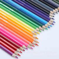 36 colores seguro no tóxico plomo agua Soluble color lápiz acuarela lápiz Set para escribir dibujo arte suministros rosa