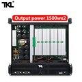 TKL PH2 усилитель мощности 2 канала 1300 Вт x2 Профессиональный усилитель мощности сабвуфер питания усилитель сцены DJ
