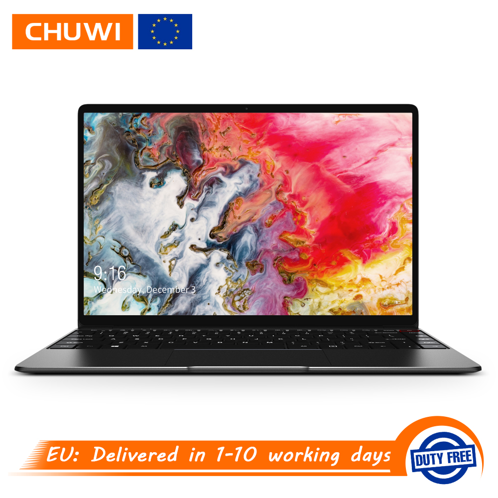 CHUWI AeroBook 13.3 inch 1920*1080 Screen Intel M3 6Y30 8GB RAM 256GB SSD Windows 10 Laptop Ultra Slim Notebook Backlit Keyboard-in Laptops from Computer & Office