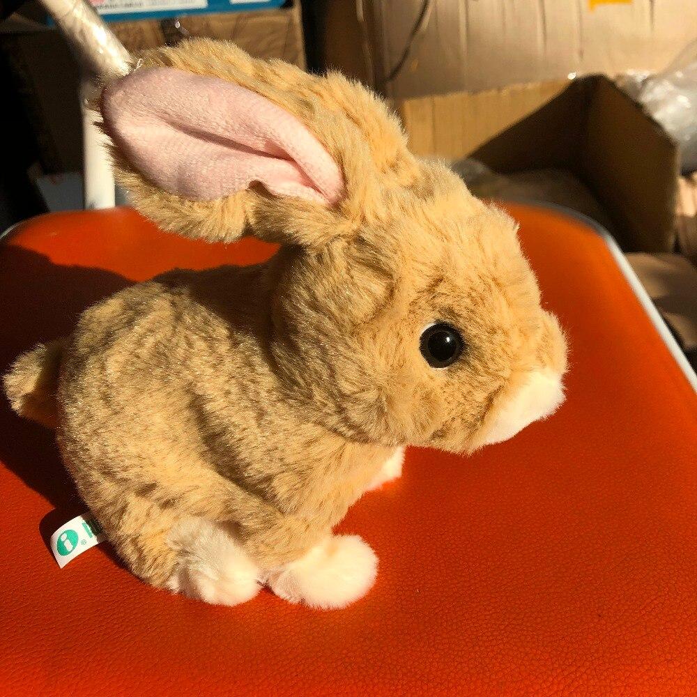 Haute Qualité sautant Mignon lapins Animaux Électroniques jouets pour bébé fille présente jouets électriques