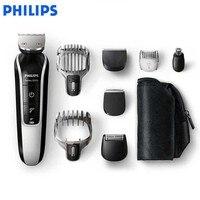 Philips Многофункциональный машинка для стрижки волос QG3371/Для Мужчин's электробритва водонепроницаемый шлифовально режущая головка триммер 220