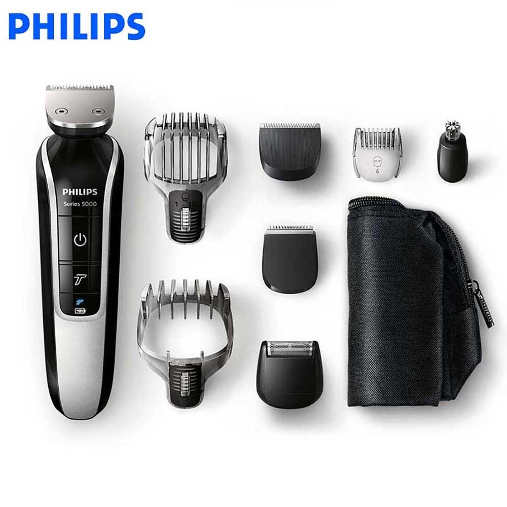 Philips multifonction cheveux Clipper QG3364/3371 hommes rasoir électrique étanche automatique coupe-cheveux tête tondeuse 100-240 V