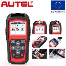 Autel MaxiTPMS TS501 активировать датчики мониторинга состояния шин читает/очищает коды система контроля давления шин OBD2 сканер 315/433 МГц TPMS инструментов программирования