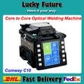 Бесплатная Доставка dhl ТОП Технологии Single Fiber Сварочный Аппарат Comway C10 С Волоконно Кливер