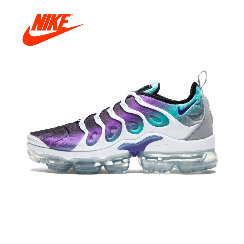 Original New Arrival Authentic NIKE AIR VAPORMAX PLUS Women's Running Shoes Sport Outdoor Sneakers Breathable цена