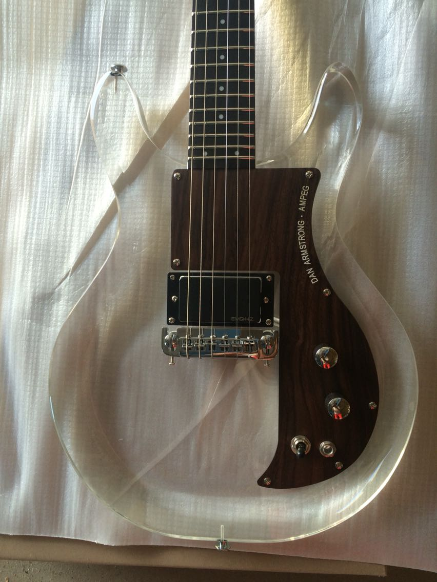 Electric Guitar/Acrylic Guitar/Anmiyue High Quality Guitar(China)