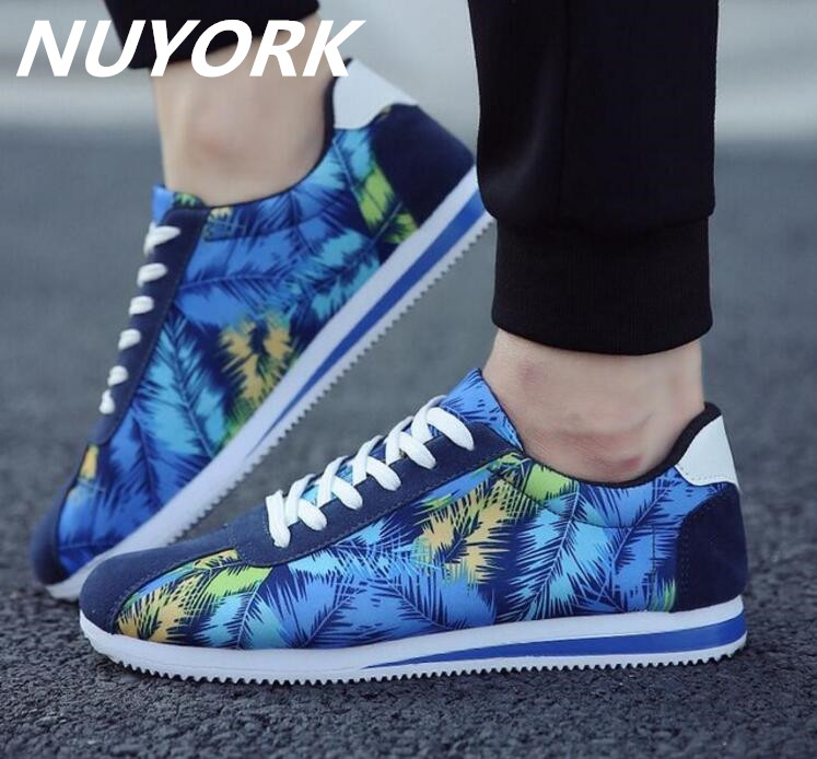 New listing hot sales Spring and Autumn Breathable men running shoes sports shoes 61202