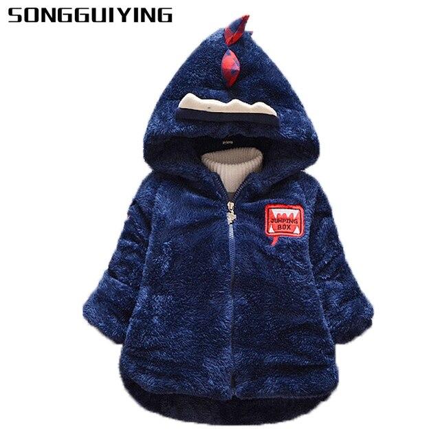 3334776ae7b4a SONGGUIYING A119 hiver nouveau-né bébé Snowsuit coton filles manteaux  vestes bébé chaud ensemble enfants