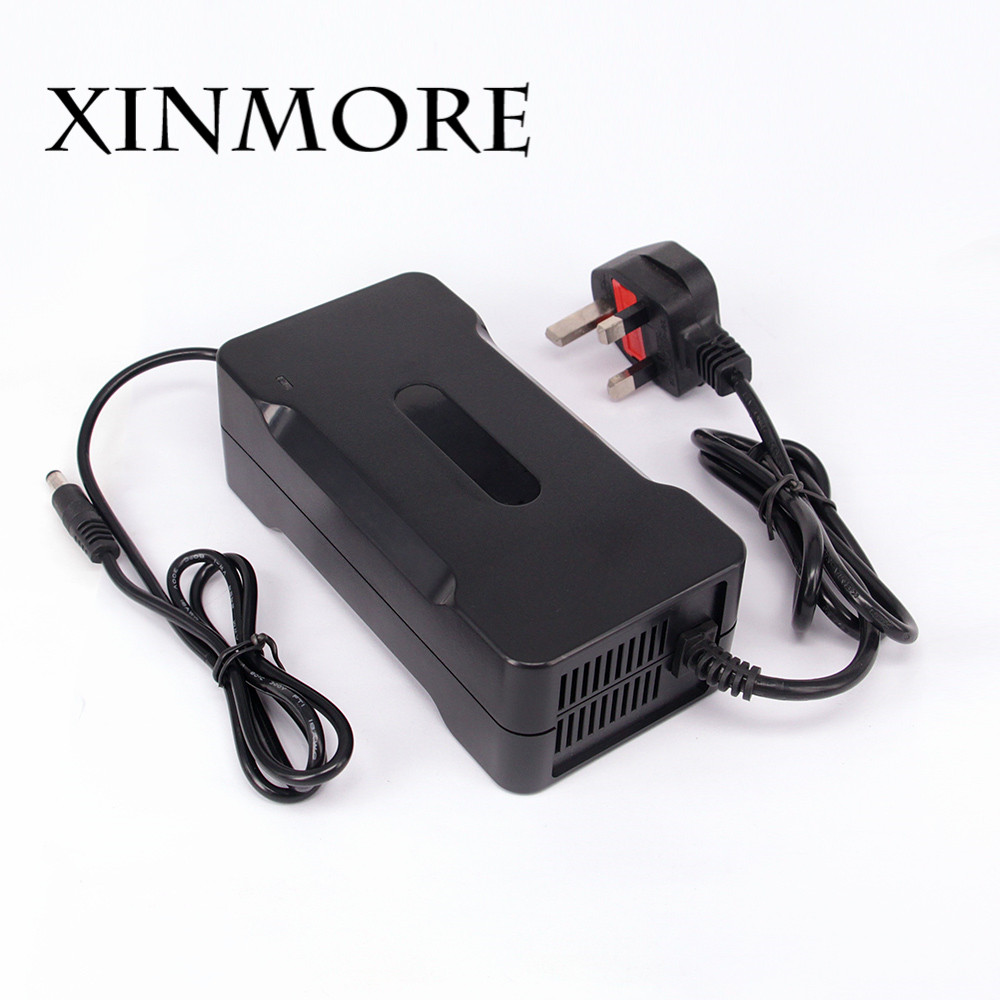 XINMORE 58.4V 4A Battery Charger For 48V (51.2V) Lifepo4 lithium Battery Electric Bicycle Power Electric Tool for Switching цена