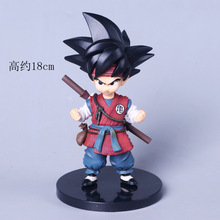 Seven Dragon Ball Heaven Martial Arts Youth Wukong Child Action figure Combat version toys collection doll Christmas gift no box