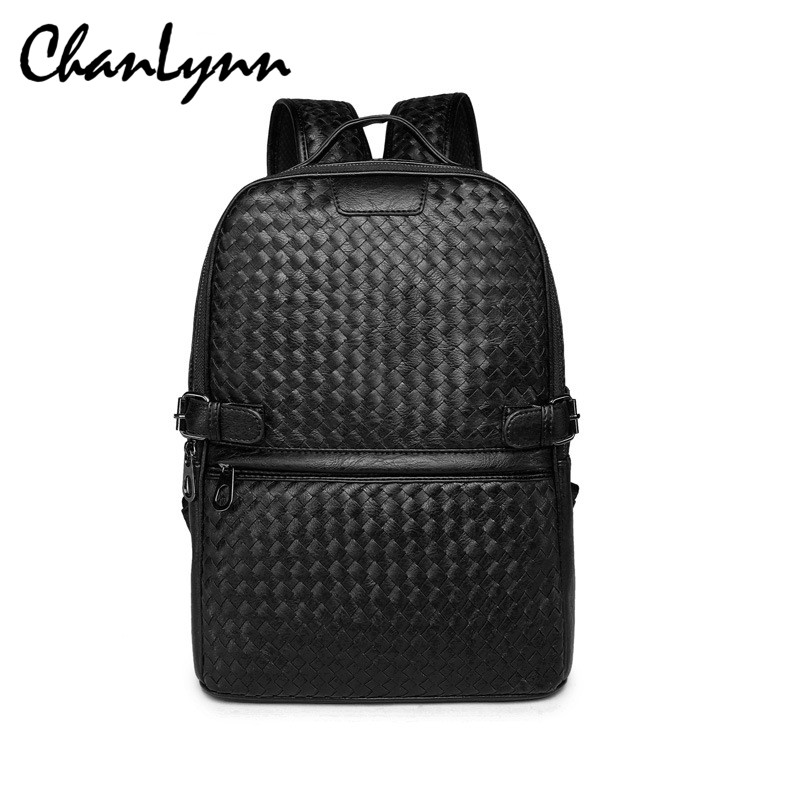 Popular Luxury Designer High Quality Men Leather Backpack-Buy ...