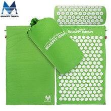 Yoga Mat Acupressure Mat and font b Pillow b font Set Back Body Massage Relieve Stress