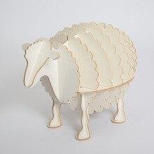 Creative Nordic European side table style sheep European style home decor decoration Hotel restaurant bar shelves