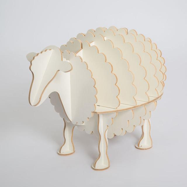 Criativo Nordic mesa lateral ovelhas estilo Europeu-estilo Europeu de decoração para casa decoração Do Hotel bar restaurante prateleiras frete grátis
