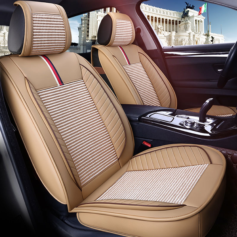 Leather car seat cover auto seats covers for ford mk4 lacetti new fiesta ecosport sedan edge everest mustang 2005 2004 2003 2002
