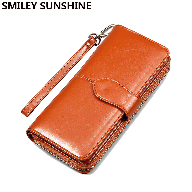 2018 Fashion Women Leather Wallets Lady Clutch Bag Female Coin Purses Holders Coin Pouch Change Purses Womens Wallets Monederos hnxzxb tassel pendant design small clutch wallets for women coin purses card holders invoice pocket pu leather female lady bag