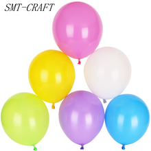 10pcs/lot 10inch 1.5g Latex Balloon Air Balls Inflatable Party Wedding Decoration Birthday Float Balloons Toys party supplies