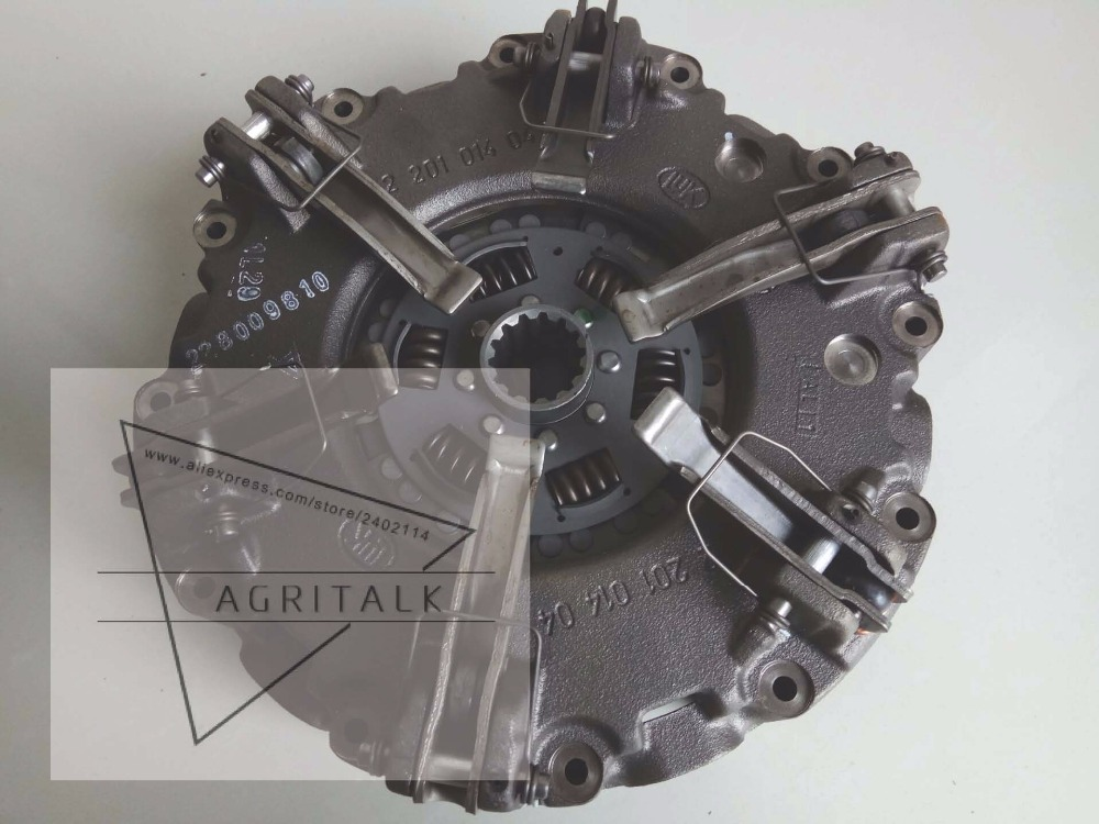 Foton tractor TD series tractor parts, the LUK 11 inch clutch assembly with auxiliary disc, part number: L-02428-0150-10