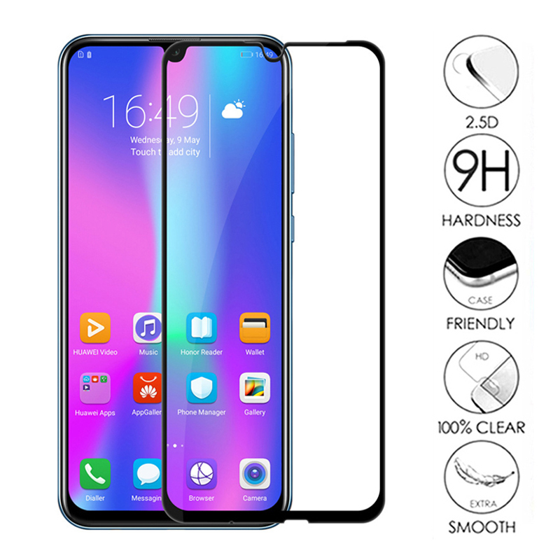 Image 5 - Tempered Glass on For Honor 10 Lite Protective Glass For Huawei Honor 10 Light 9 Lite Honer 10Lite Safety Screen Protector Cover-in Phone Screen Protectors from Cellphones & Telecommunications