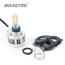 2016 New Motorcycle Bike 32W 12V 6000K 3000LM Slim LED Hi/Lo Bi xenon H4 High/Low High Low Conversion Beam Headlight Kit M3S