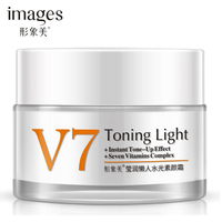 IMAGES V7 Toning Light Face Cream Moisturizing Whitening Anti-aging Anti wrinkle Essence Day Cream Face Care 50g Facial Care