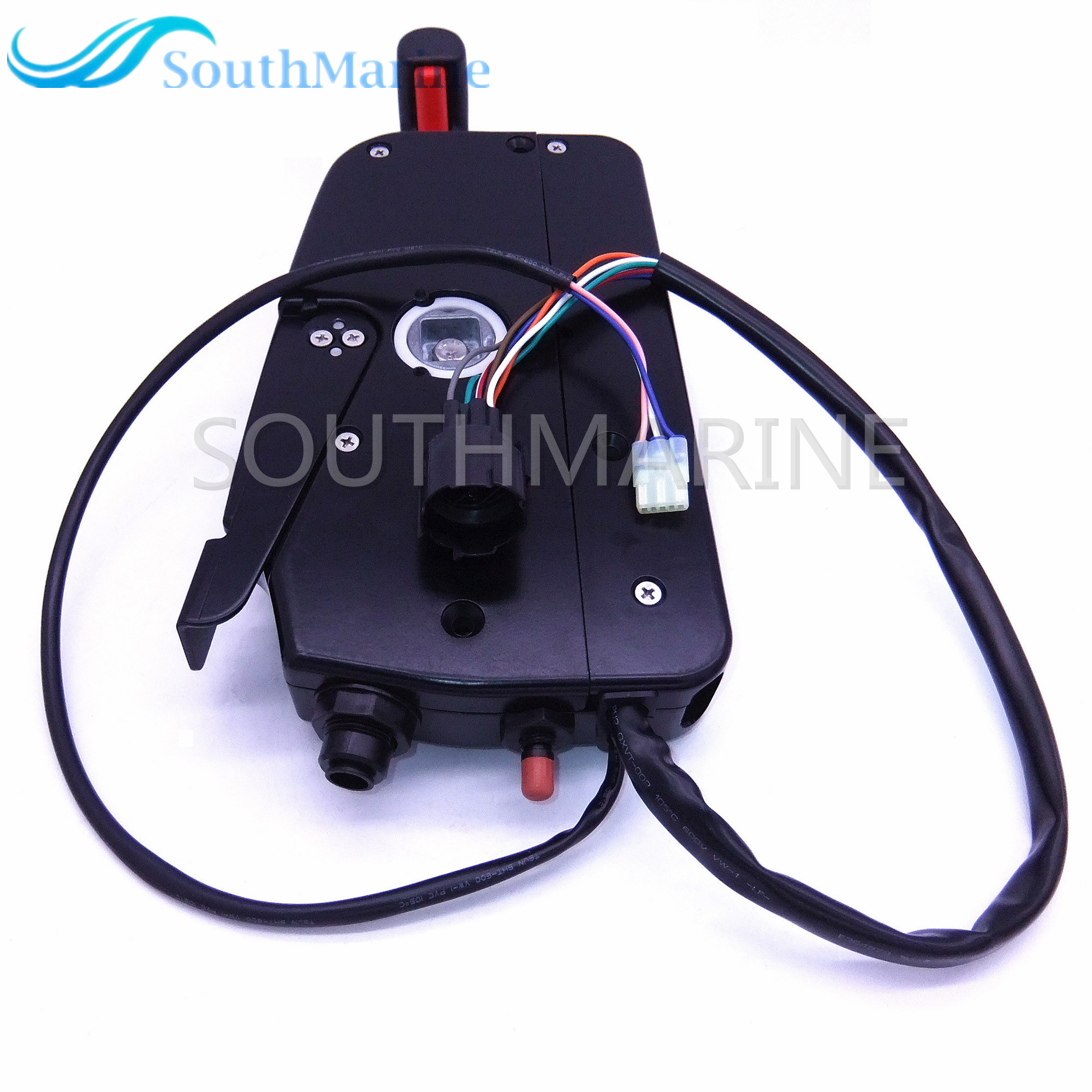 Side Remote Control Box 67200-93J50 for Suzuki Outboard Motors with PT Push 67000-93J50 right hand ,Free Shipping