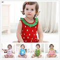 Baby Girl Summer Clothes Baby Boy Romper Sleeveless Cartoon Body Baby Summer Clothes Infant Outerwear Newborn Cotton Jumpsuit