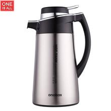 1800 ML Edelstahl Thermos Wärme Wasser Topf Kaffee Wasserkocher waterpot Tee Wasserkocher Teekanne Kaffee Isolierte Vakuumflasche Wasserkocher