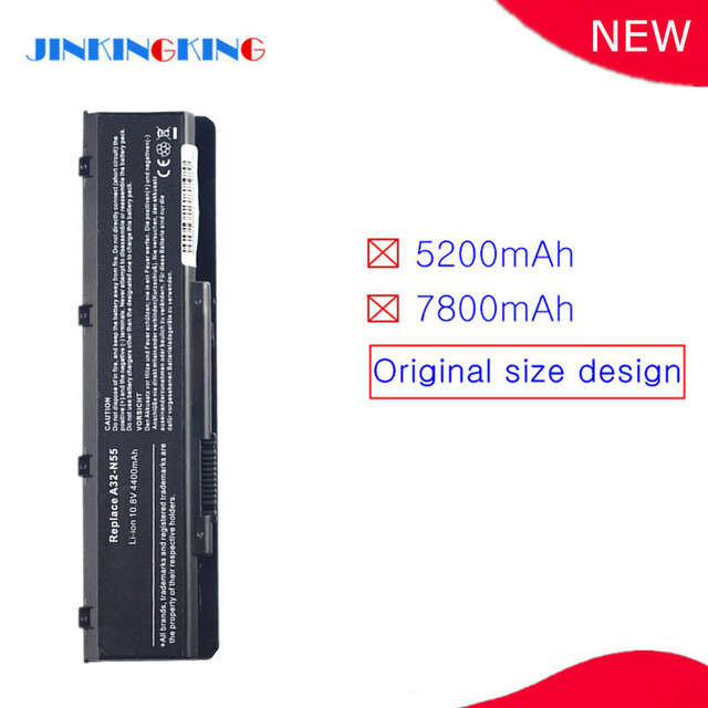 Batterie dordinateur portable A32-N55 pour ASUS N45 N45E N45S N45F N45J N45JC N45SJ N45SN N45SF N45SL N45SV N55 N55E N55S N55SF N55SL