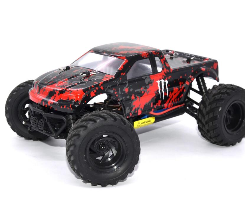 2017 new High Speed Drift Electric big foot Car 18859E 2.4G 4WD 35-40km/h RTR Remote Model RC Racing Car Toy for kids best gift wltoys k969 1 28 2 4g 4wd electric rc car 30kmh rtr version high speed drift car
