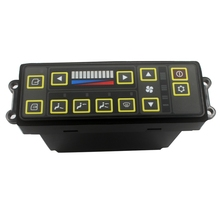 SINOCMP Excavator AC controller for Hyundai R110 7 R210LC 7 Heater Control Parts