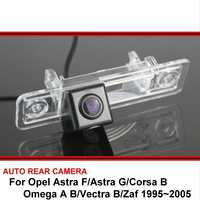 For Opel Astra F/Astra G/Corsa B/Omega A B/Vectra B/Zaf 1995~2005 Rear view Camera CCD SONY Car Back up Reverse Vehicle Camera