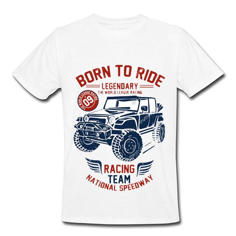 T-Shirt Born to Ride Racer Live Athleticer Tennies Baseballer Men Gifter Jogger SH 146