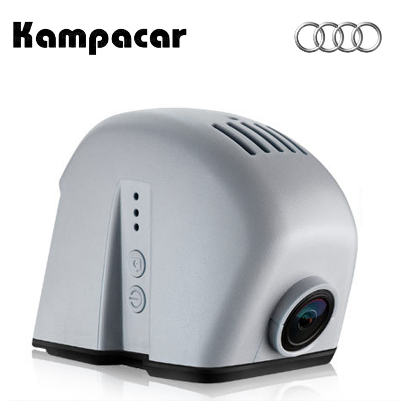 Kampacar For Audi Q5 A7 A8 2015 Wifi Car DVR For Audi Q5 2012 Video Recorder Wifi Dual Dash Cam For Audi Q3 2014 R8 2 Car Camera игрушка motormax audi q5 73385