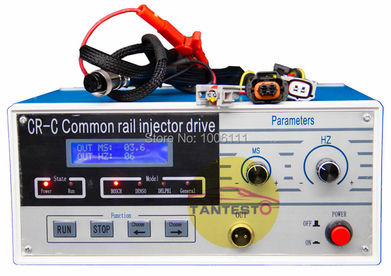 Multi function CR-C diesel common rail injector tester tool for bosch//delphi