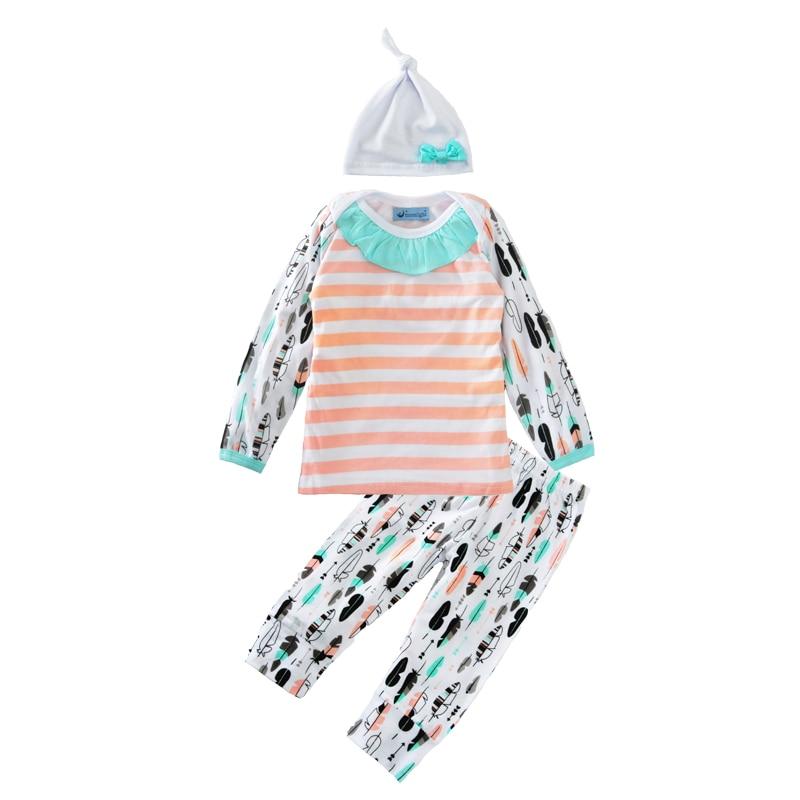boy clothing sets christmas 2016 fashion bow hat stripe t font b shirt b font feather