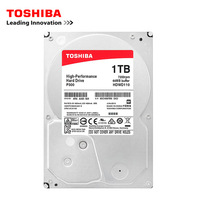 Toshiba brand 2TB desktop computer 3.5 internal mechanical hard disk SATA3 6Gb/s hard disk 2000GB HDD 7200RPM buffer