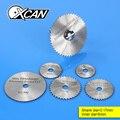 1 pcs HSS Rotary Tools mini Circular Saw Blades Cutting Discs Mandrel Cutoff Cutter Power tools multitool