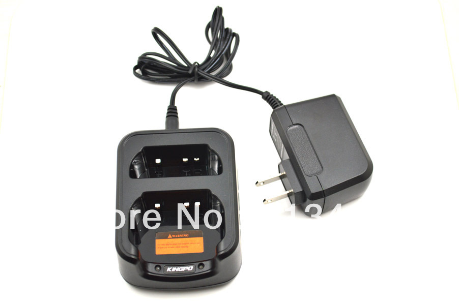 Exclusively Li-ion Desktop Charger KP/CH-22001 With Adapter KP/MU-24002  For Kingpo KP-558UV Dual Band Transceiver