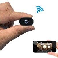 PNZEO W2 Mini Camera 1080P HD Wireless WiFi Remote Monitor Camera Tiny IP Camera Video Recorder Motion Detectio(Hidden)