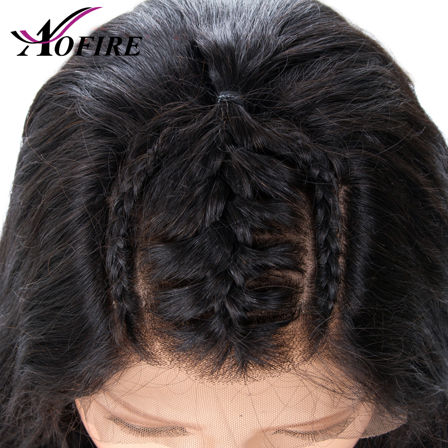High Density 360 Lace Frontal Human Hair Wigs For Blank Women Bleached Knots With Baby Hair