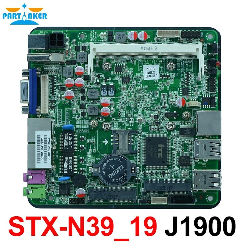 Dual Nics Nano Itx Motherrboard With Intel J1900 120mm*120mm STX-N39_19 цена