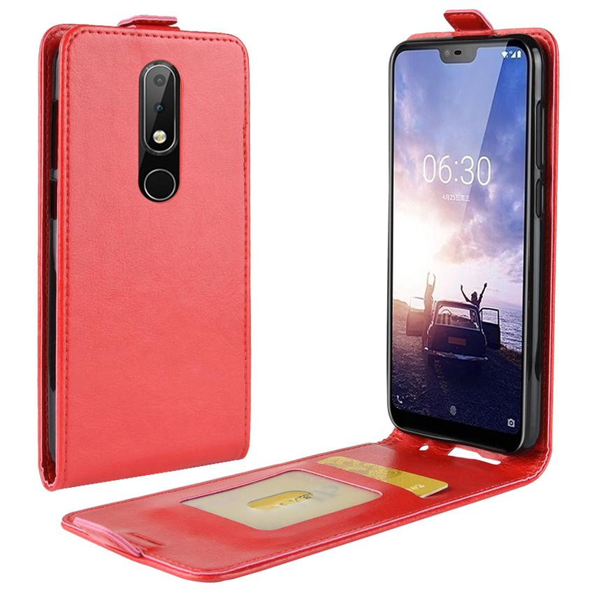 Leather Soft Case for <font><b>Nokia</b></font> X6 X5 9 PureView <font><b>3310</b></font> <font><b>3G</b></font> 4G Cases Wallet Case <font><b>Cover</b></font> Screen Protector Film for <font><b>Nokia</b></font> 5.1 plus 9 Pure image