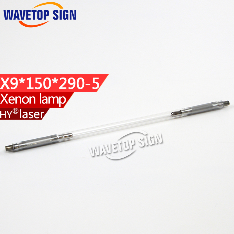 Laser xenon lamp   x9x150x290-5 use for laser welding machine  laser marking machine  xenon lamp laser head kss 151a