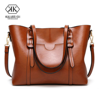 Good Quality Women PU Leather Handbags Tote Bag Shoulder Bag For Women 2018 Bag Women Sac a Main Ladies Hand Bags