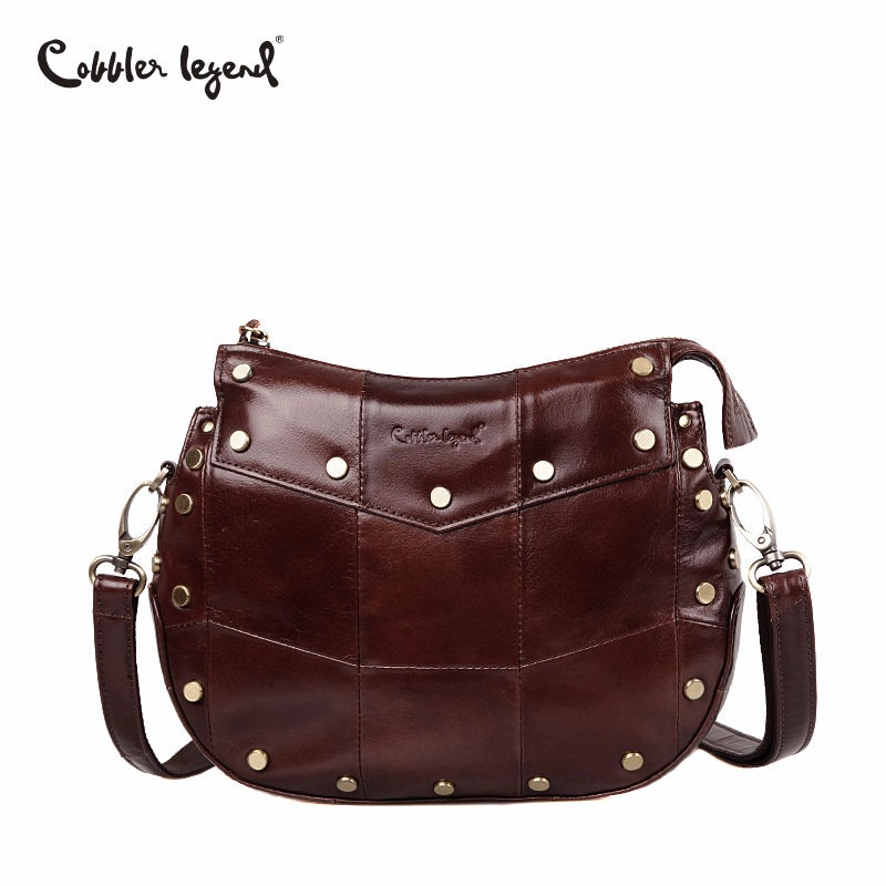 Cobbler Legend Brand Genuine Cow Leather Shoulder Bags Gift Women Casual Tassel Messenger Bag Handbag Designer Female Crossbody cobbler legend brand tassel tote bag genuine leather handbag women shoulder bag female real leather messenger bags tassen
