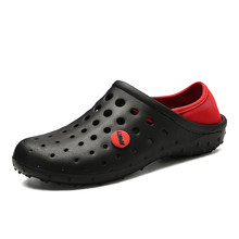ac0de253e AA Mens Shoes Men Sandals 2019 crocse Clogs Sandalias Shoe Sandalet croc  Shoes for Men Sandles
