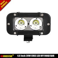 Led 4x4 Bar Lights 4 6inch 20W Led Light Driving 12V 24V Offroad Led Lights Narrow