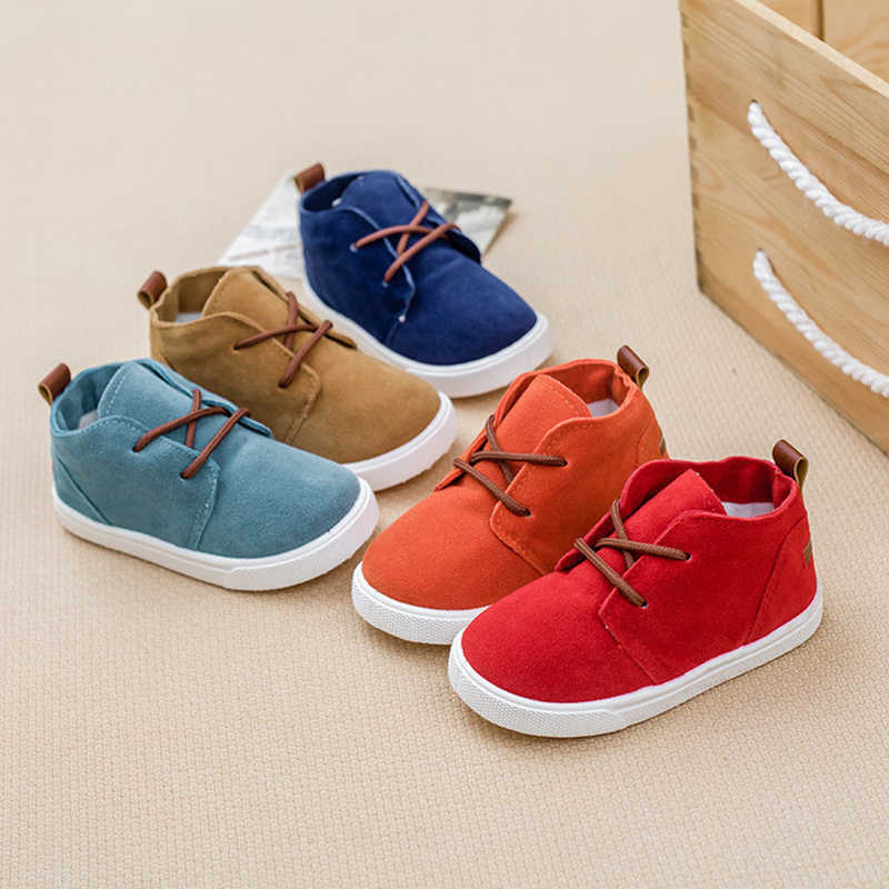 Autumn New Fashion Sneakers for Children Baby Shoes Girls Super Soft and Comfortable Boys Suede Toddler Casual Shoes
