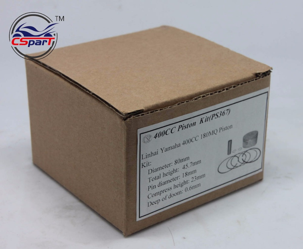 🛒 80MM 18MM Piston Ring Gasket Kit VOG LINHAI YP 400 400CC